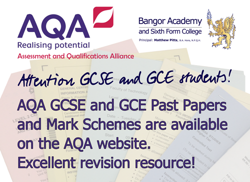 AQA-Past-Papers-Revision-Notice-April-2106
