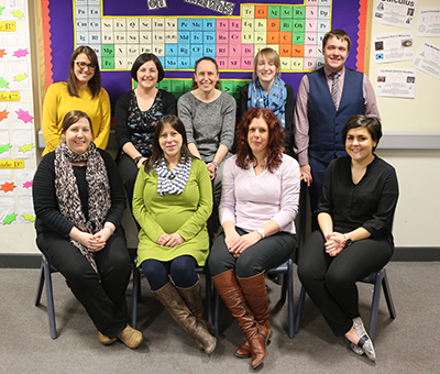 Maths Department Staff