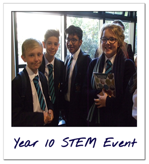 Year 10 STEM event