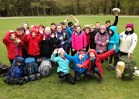 DofE Silver group 2016