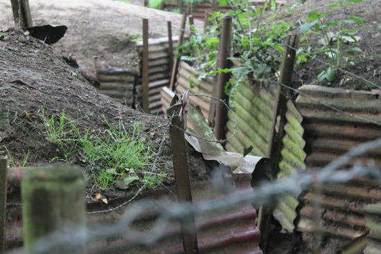 Trenches at Sanctuary Wood Museum