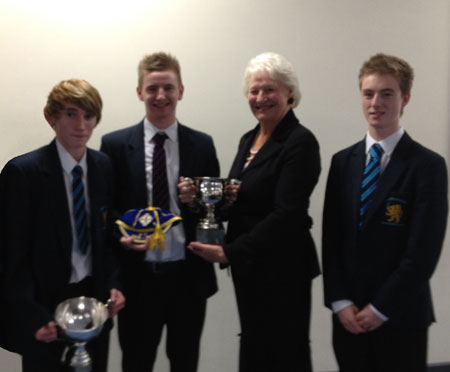 pupils-with-mary-peters-prize-distribution-2011