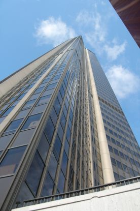 view from the street – Montparnasse Tower