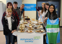 Charity Fundraising Day for the Alzheimer's Society