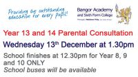 Year 13 and 14 Parental Interviews