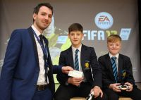 Congratulations to the winning gamers in the Fifa competition