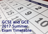 GCSE GCE Exams timetable