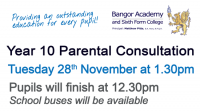 Year 10 Parental Consultation