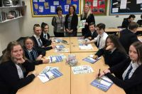 Academy pupils calculate the cost to fund their future lifestyles.