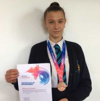 Academy Gymnast Brings Home Bronze Medal from British Finals