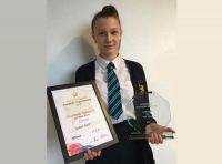 Diana Declared Rhythmic Gymnast of the year.