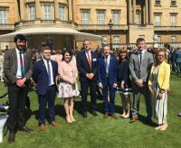 Gold Standard Duke of Edinburgh Winners Celebrate at Buckingham Palace