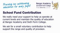 School Fund Contribution