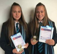 Able Academy Sailors Zarah and Hollie are all set for RYA Youth Championships.