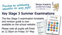 Key Stage 3 Summer Examinations Revision Booklet 2019