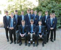 Year 9 Footballers are North Down Secondary School League Champions