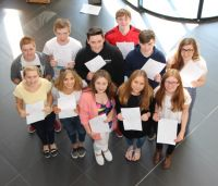 A Level Results Day 2015