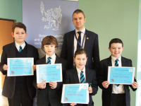 Maths award winners