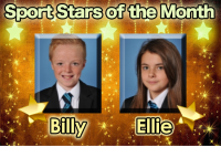 Sports Stars of the Month